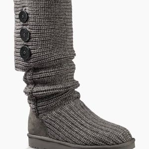 UGG Shoes - Ugg Original Cardy Boot, Gray, size 7